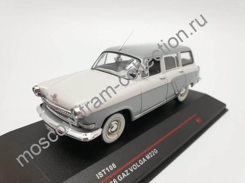 Масштабная коллекционная модель GAZ VOLGA M22 1966
