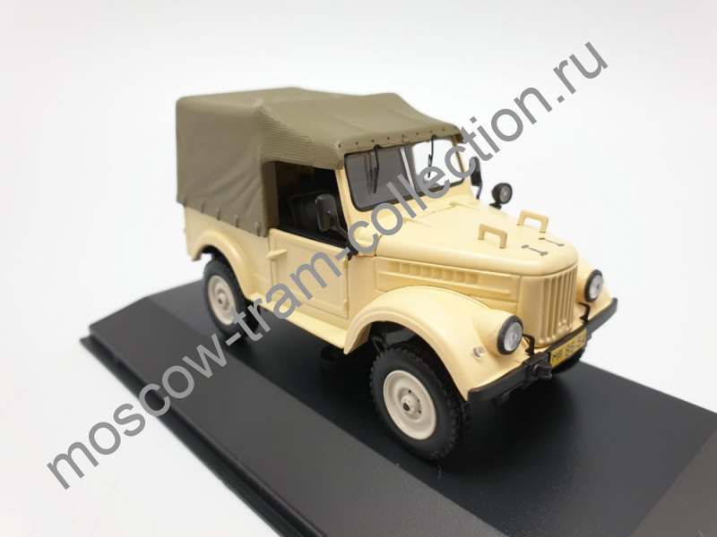 Коллекционная масштабная модель 1:43 Горький 69 / 1954 г.