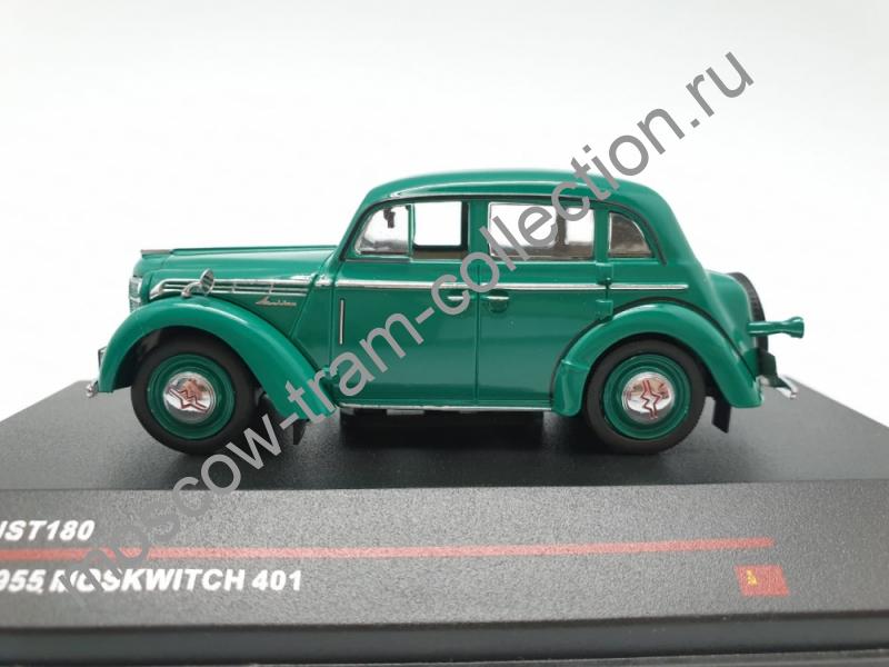 Масштабная коллекционная модель Москвич 401 / 1955 г.