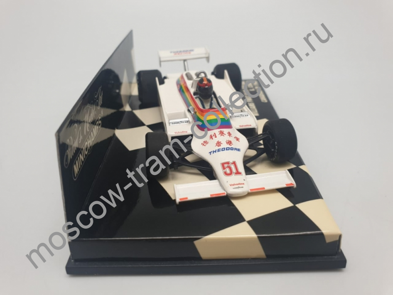 Коллекционная масштабная модель 1:43 Williams FW07 Ram Racing K. Cogan Canadian GP 1980