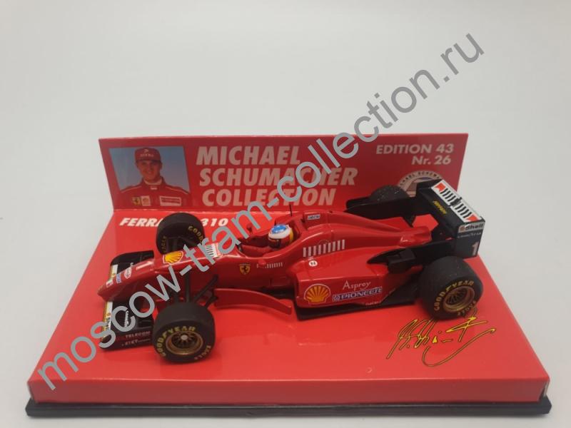 Коллекционная масштабная модель 1:43 Ferrari F 310 Michael Schumacher