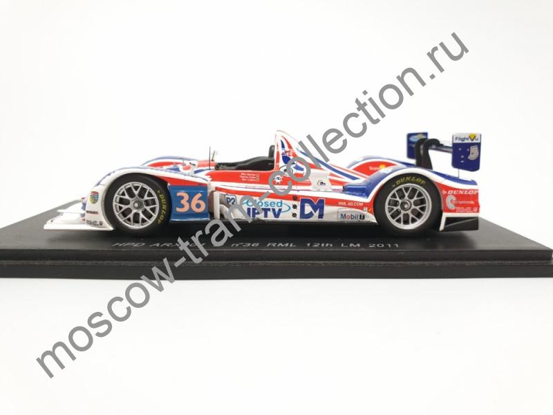 Коллекционная масштабная модель 1:43 HPD ARX 01 D №36 RML LM 2011