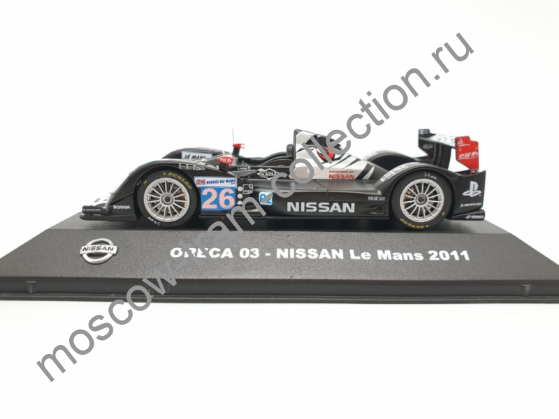 Коллекционная масштабная модель 1:43 Oreca 03 - NISSAN Le Mans 2011