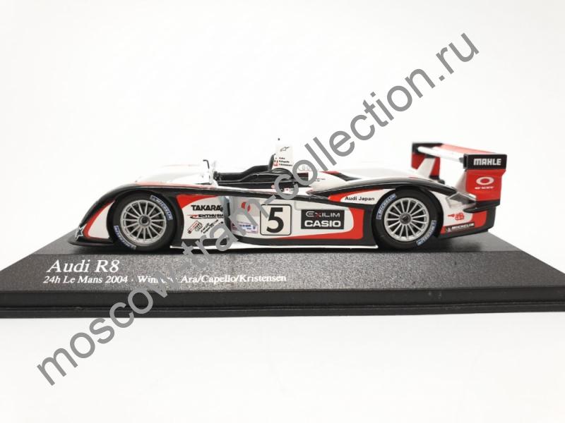 Коллекционная масштабная модель 1:43 Audi R 8 24h Le Mans 2004