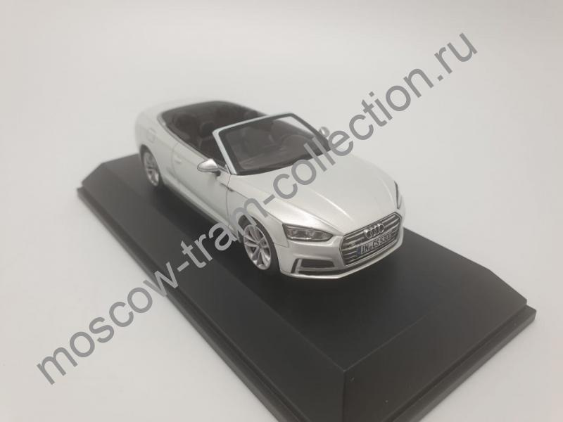 Коллекционная масштабная модель 1:43 Audi S5 Cabriolet