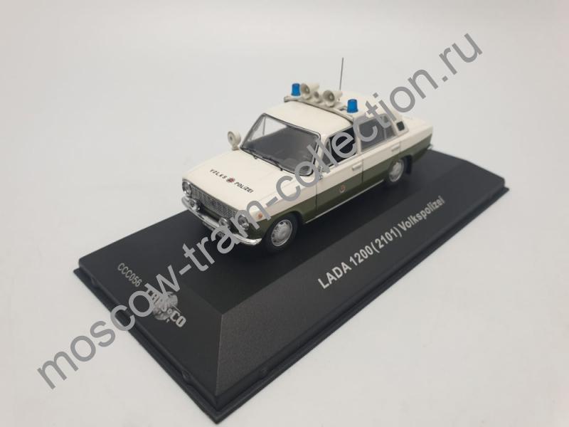 Коллекционная масштабная модель 1:43 LADA 1200 (Ваз 2101) Volkspolizei