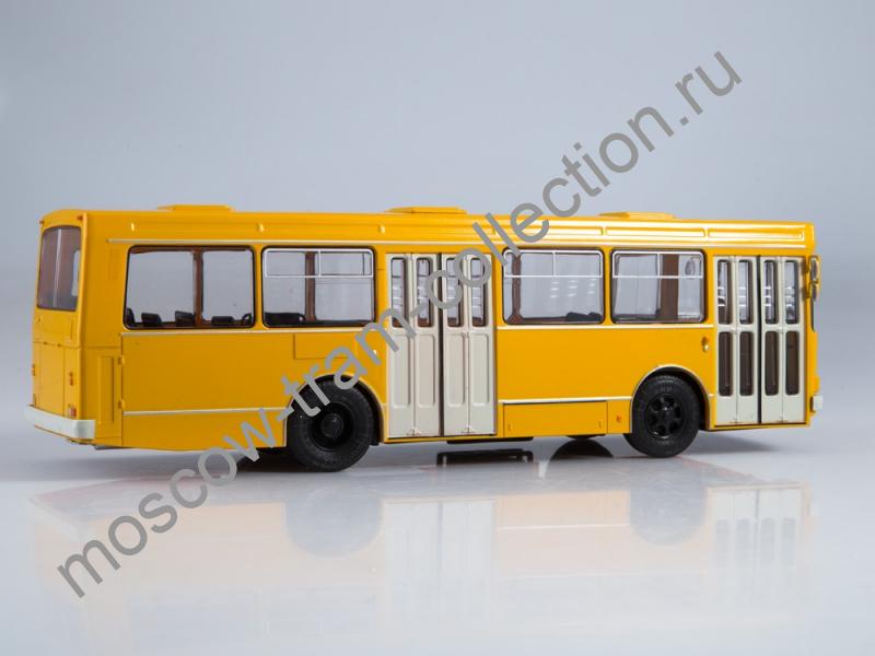 Коллекционная масштабная модель 1:43 Выпуск №12, ЛАЗ-4202