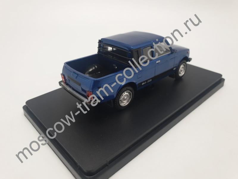 Коллекционная масштабная модель 1:43 ВАЗ 2329 пикап