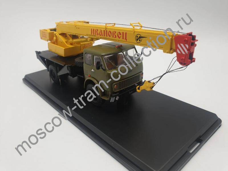 Коллекционная масштабная модель 1:43 Автокран КС-3577 (5334)