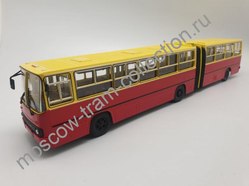 Коллекционная масштабная модель 1:43 Ikarus-280 (красно-жёлтый)