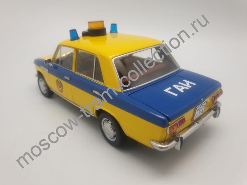 """Коллекционная масштабная модель 1:43 2101 ГАИ Милиция 1982 (из к/ф """"Инспектор ГАИ"""")"""