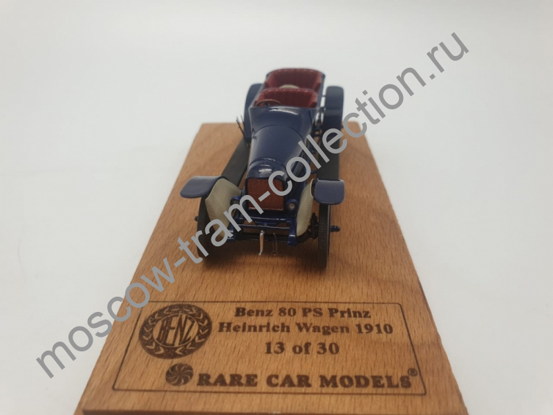 Коллекционная масштабная модель 1:43 Benz 80PS Prinz Heinrich Wagen 1910 (L.E.30pcs)