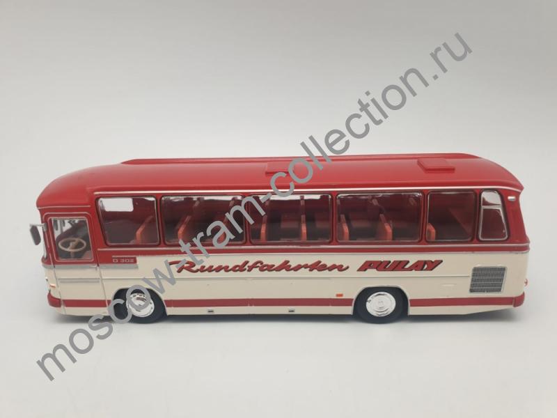 Коллекционная масштабная модель 1:43 Mercedes-Benz O 302 - 1972