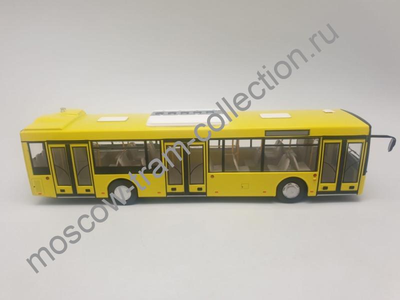 Коллекционная масштабная модель 1:43 МАЗ-203 (жёлтый)