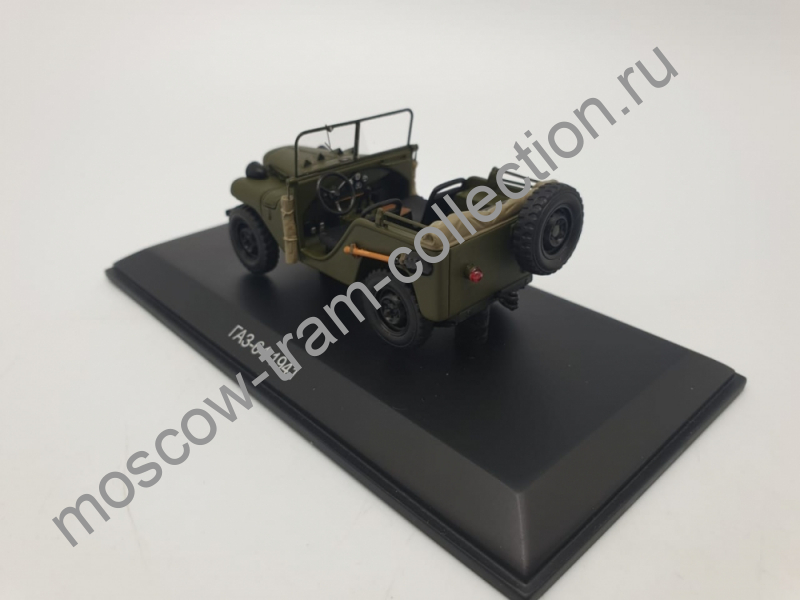 Масштабная коллекционная модель ГАЗ 64 / 1941 г.