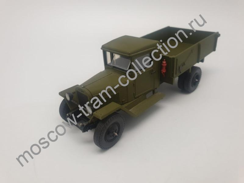 Коллекционная масштабная модель 1:43 ЗИС-5 бортовой