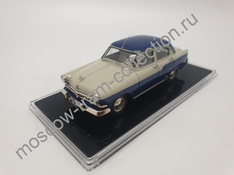"""Коллекционная масштабная модель 1:43 ГАЗ М-21Д (1958) из К/Ф """"Шофер поневоле"""""""