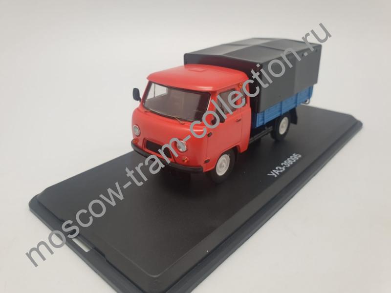 Коллекционная масштабная модель 1:43 УАЗ-39095