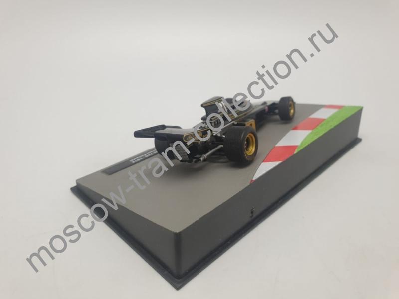 Коллекционная масштабная модель 1:43 LOTUS 72D Эмерсона Фиттипальди (1972), Formula 1 Auto Collection 38