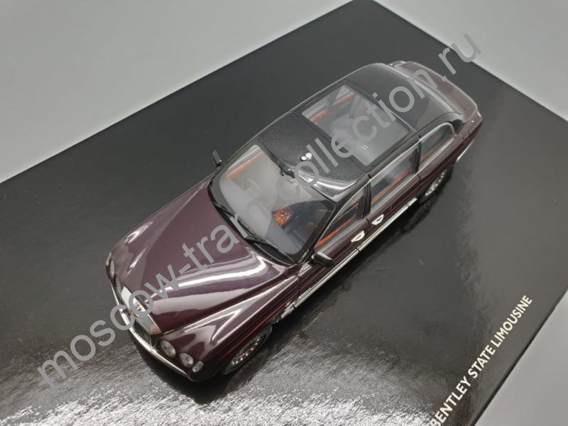 Коллекционная масштабная модель 1:43 Bentley State Limousine