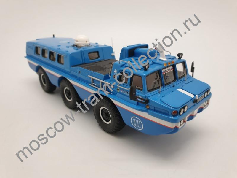 Коллекционная масштабная модель 1:43 ЗИЛ 49061 «Синяя птица» в боксе