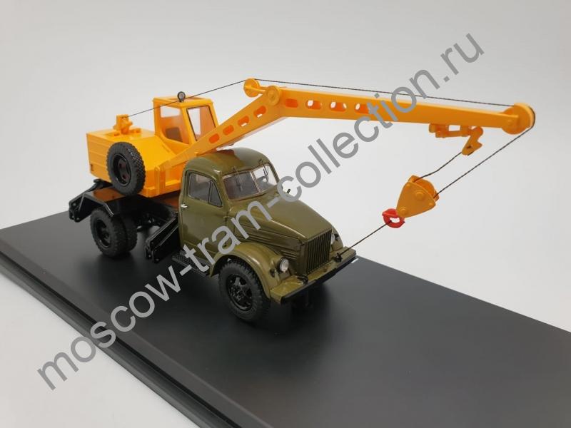 Коллекционная масштабная модель 1:43 К-2,5-1Э на шасси 51А