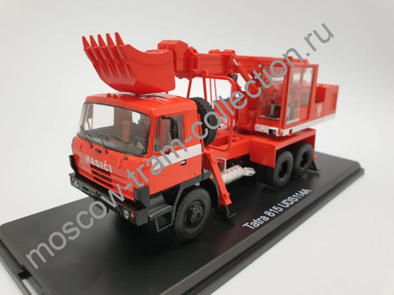 Коллекционная масштабная модель 1:43 UDS-114A (на шасси Tatra-815) Экскаватор-планировщик пожарный
