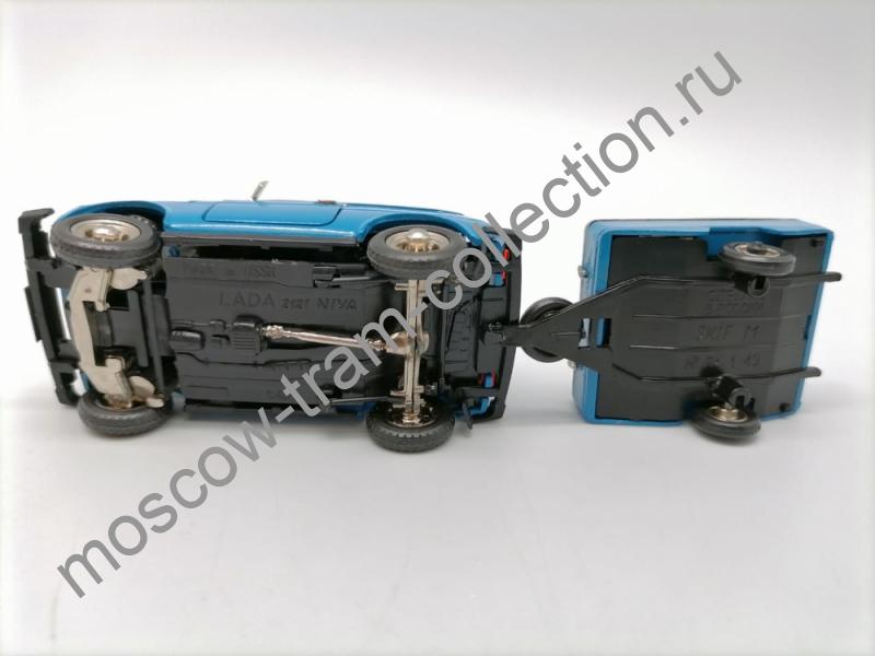 Коллекционная масштабная модель 1:43 ВАЗ - НИВА 2121