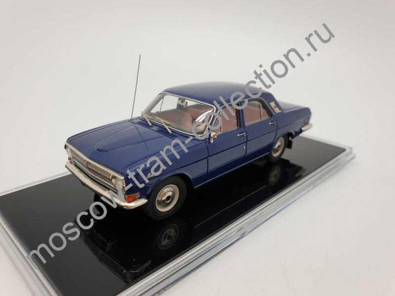 """Коллекционная масштабная модель 1:43 ГАЗ-24 """"Волга""""1974г. ICV-172B"""