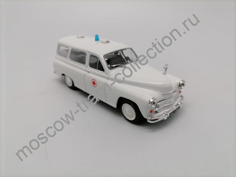 Коллекционная масштабная модель 1:43 FSO 125P Sanitarka
