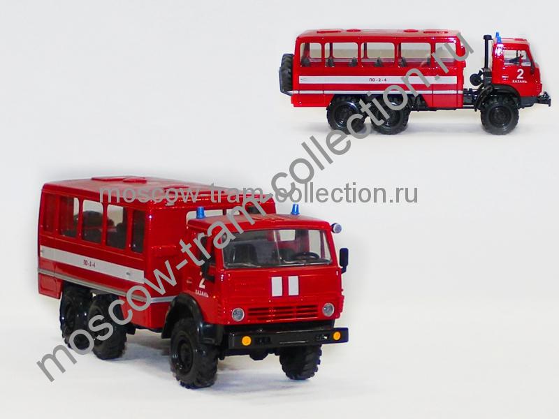 Масштабная коллекционная модель Камаз 4310 нефаз 110