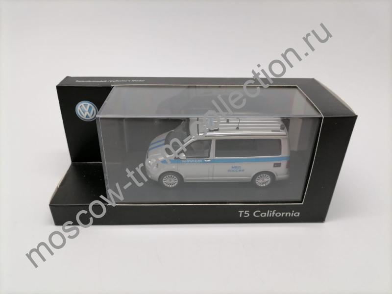 "Коллекционная масштабная модель 1:43 Volkswagen Zubehor T5 ""Милиция"""