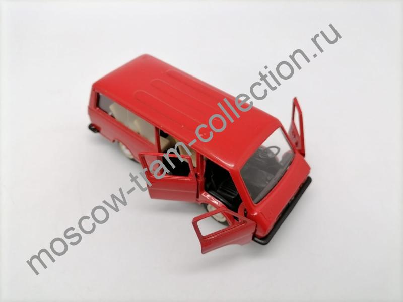 Коллекционная масштабная модель 1:43 РАФ-2203, А-18 (Красный)