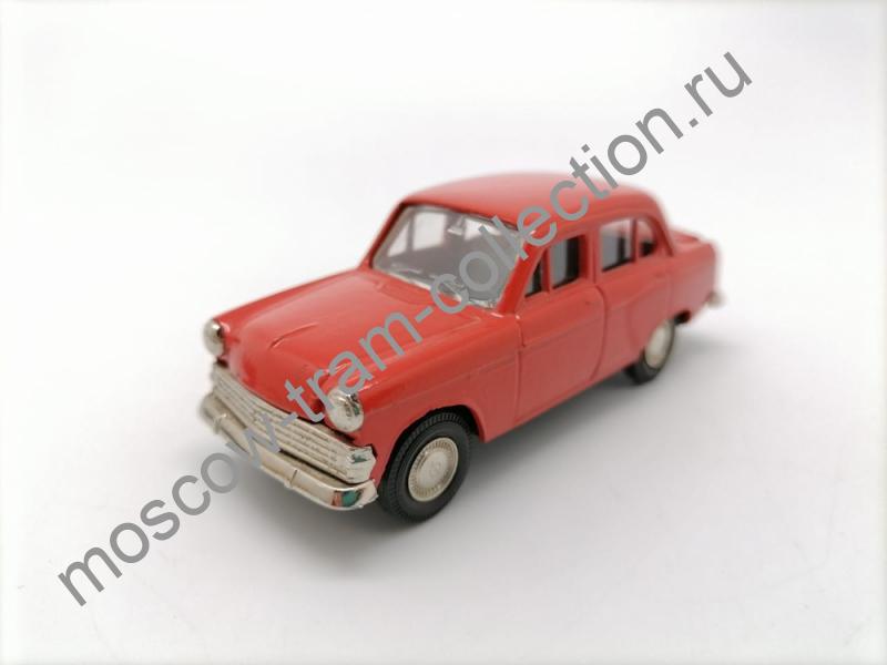 Коллекционная масштабная модель 1:43 Москвич-403,(Красно-Оранжевый.)