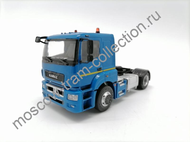 Коллекционная масштабная модель 1:43 КАМАЗ-5490-S5 (Седельный-тягач) Синий
