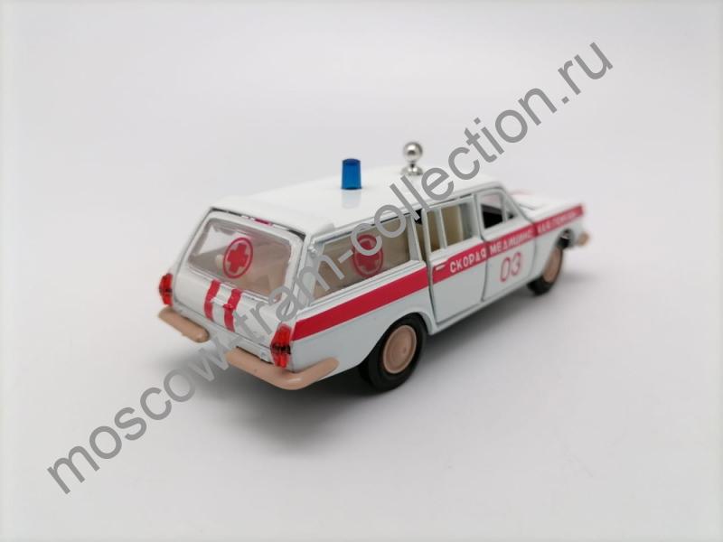 """Коллекционная масштабная модель 1:43 Волга ГАЗ-24-02 """"Скорая медицинская помощь"""" Тамповка"""