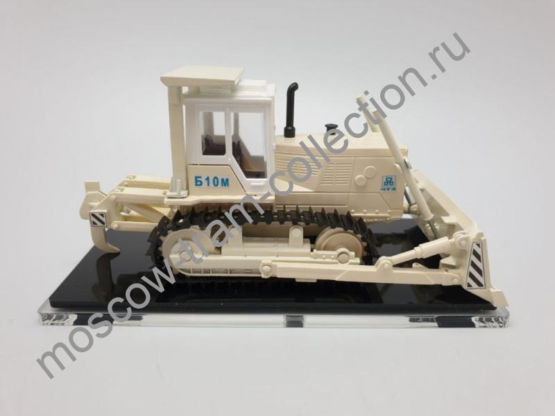 Коллекционная масштабная модель 1:43 Бульдозерно-рыхлительный агрегат Б10М.0101ЕН