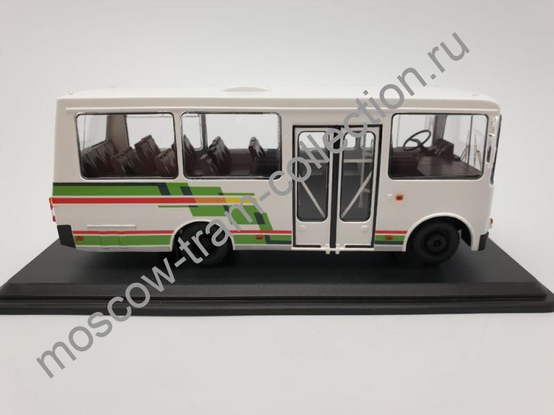 Коллекционная масштабная модель 1:43 ЛАЗ-А073