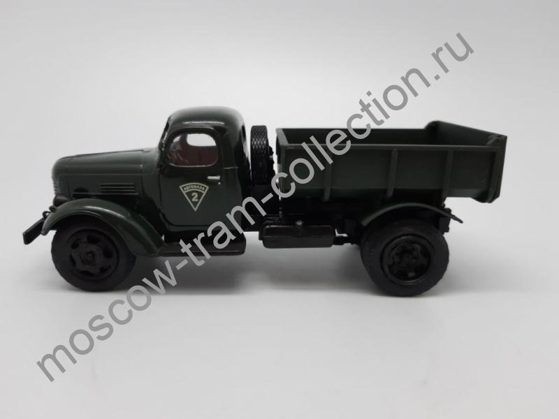 Коллекционная масштабная модель 1:43 ЗИL ММЗ 585Л (1961), темно-зеленый
