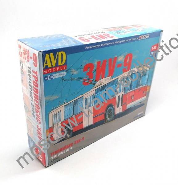 Коллекционная масштабная модель 1:43 Троллейбус ЗИУ-9