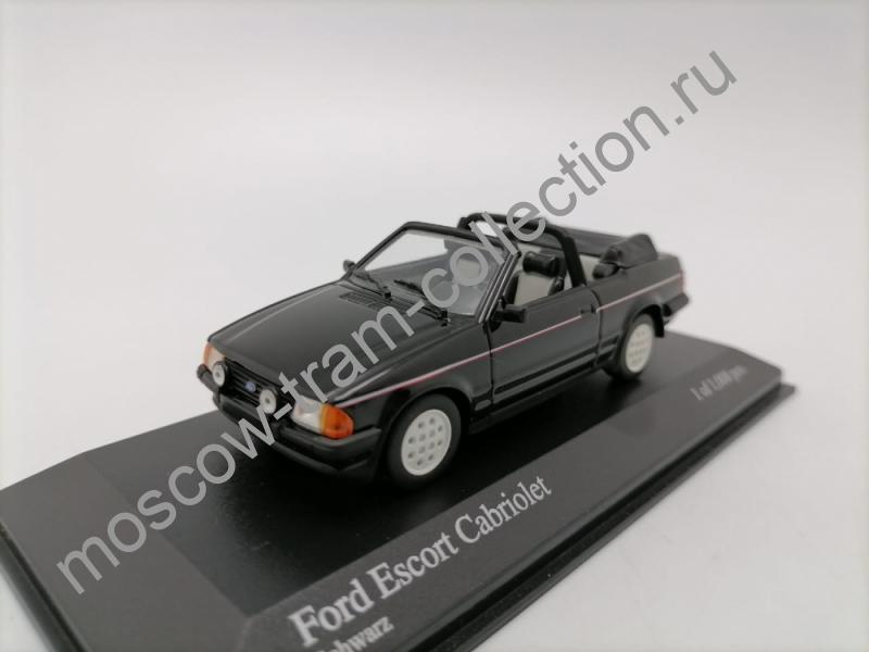 Масштабная коллекционная модель Ford Escort Cabriolet