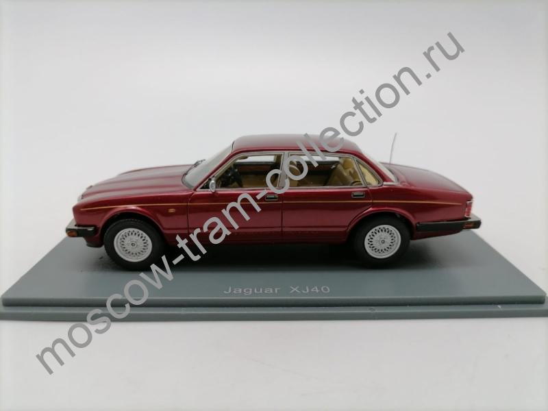 Коллекционная масштабная модель 1:43 Jaguar XJ40