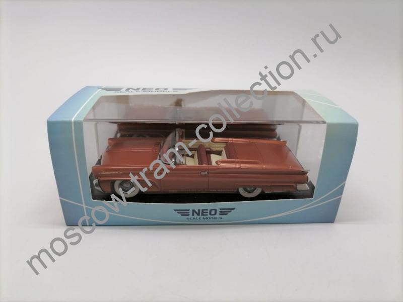 Коллекционная масштабная модель 1:43 Lincoln Continental Mk.3 Convertible 1958