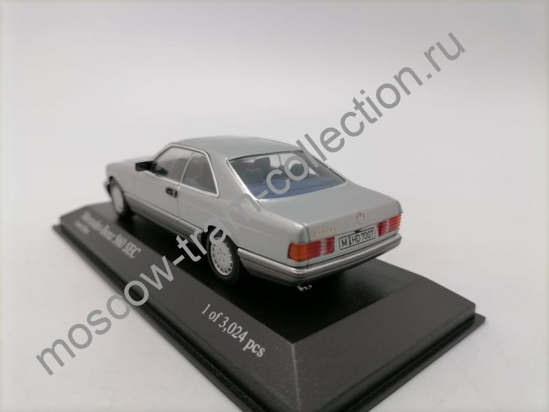 Коллекционная масштабная модель 1:43 Mercedes-Benz 560 SEC