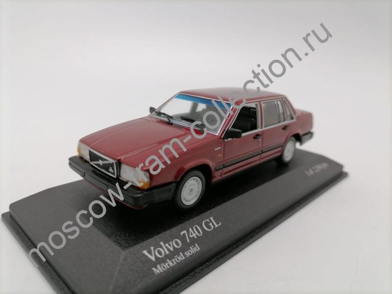 Коллекционные масштабные модели Volvo 740 GL