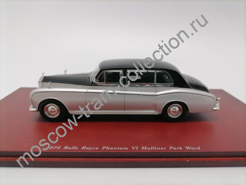 Коллекционные масштабные модели Rolls Royce Phantom VI Mulliner Park Ward 1970