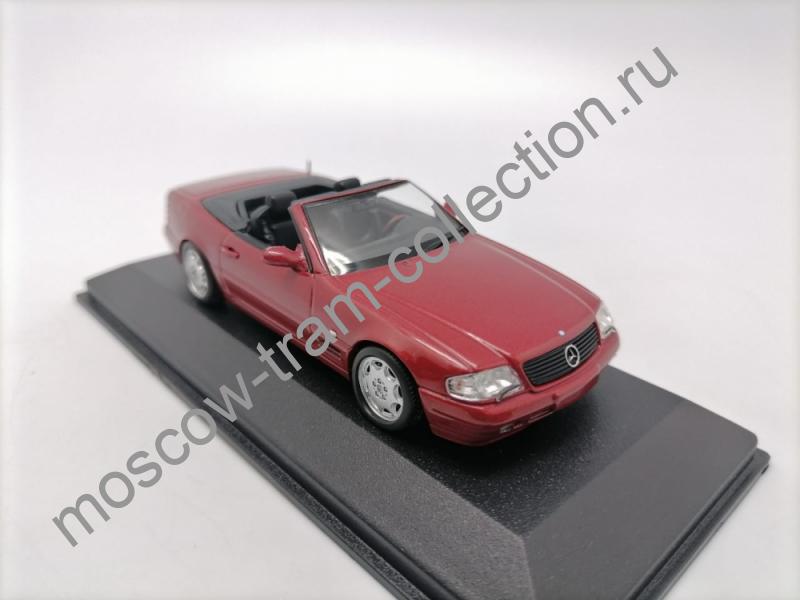 Коллекционные масштабные модели Mercedes SL 500 1999