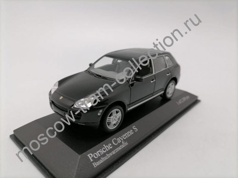 Коллекционные масштабные модели Porsche Cayenne GTS 2006 black