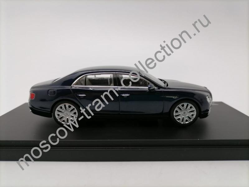 Коллекционная масштабная модель 1:43 Bentley Flying Spur W12 Dark Sapphire (black) арт.BL1081