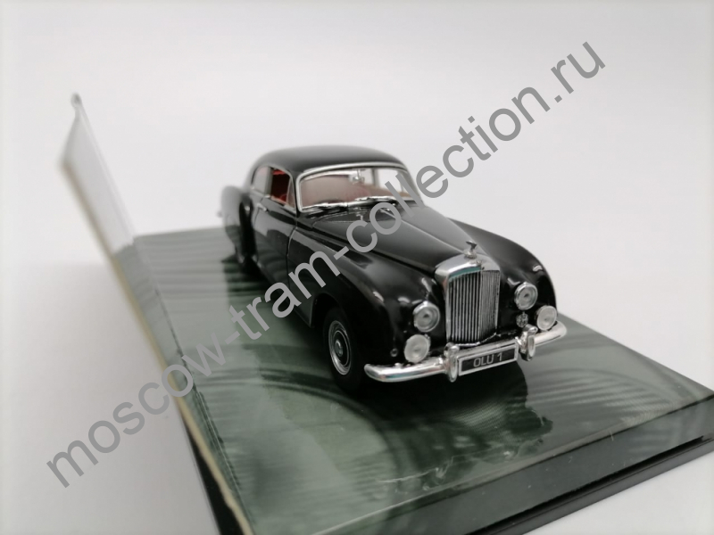 Коллекционная масштабная модель 1:43 Bentley R-Type Continental  (1954), black